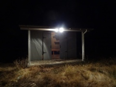 Lighted playhouse