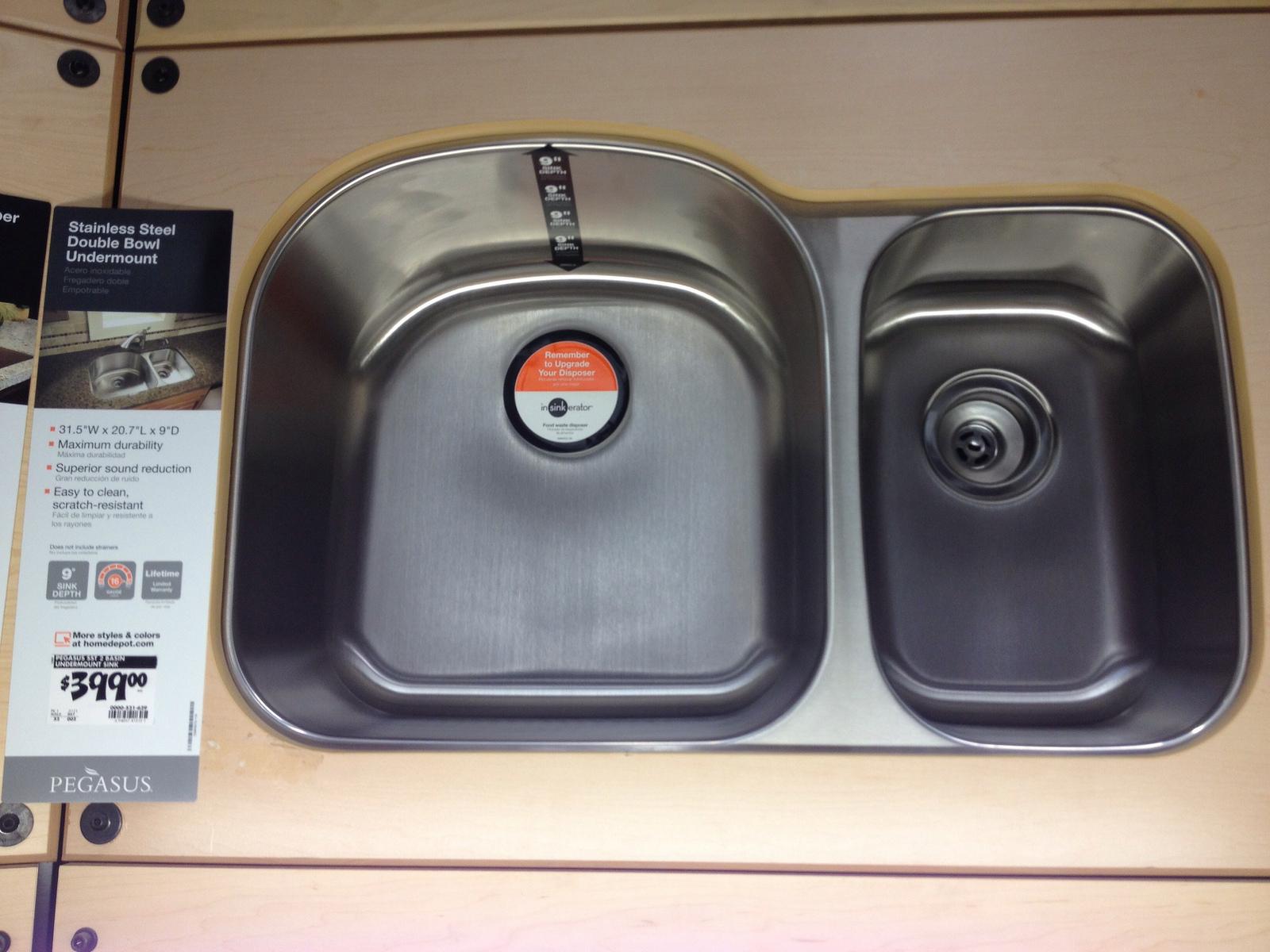Retail Kitchen Sink. Pegasus ...