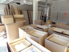 Millwork has arrived