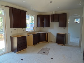 Cabinets and lights